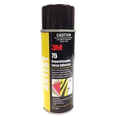 3m super 77 spray adhesive instructions