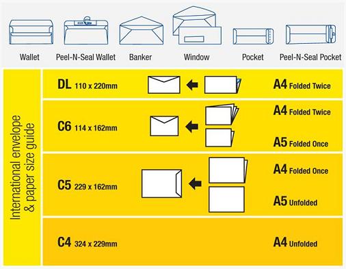 Dl paper size