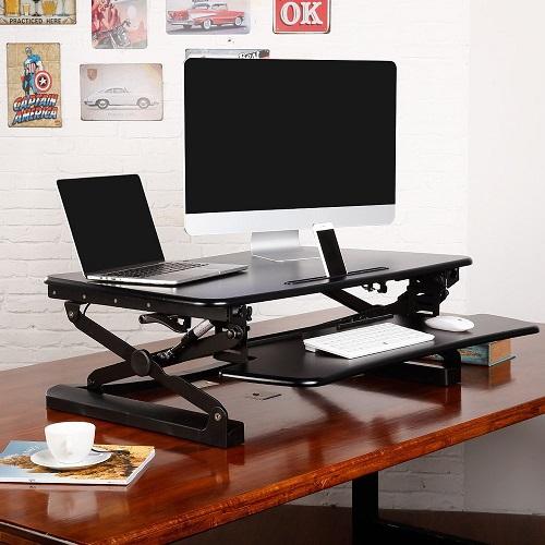 Rapid Riser Height Adjustable Sit Stand Desktop Sit
