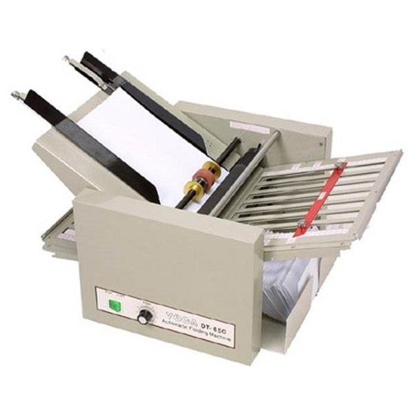 used paper folder machine