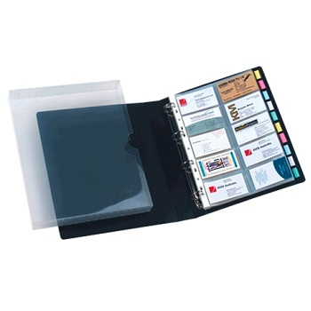 Business Card Books Binders Wallets