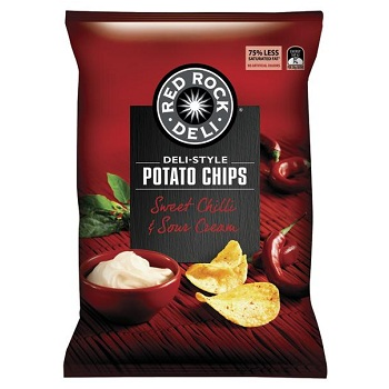 market of red rock deli chips Register or log in to find out the price and availability of red rock deli honey soy chicken potato chips 45gm.