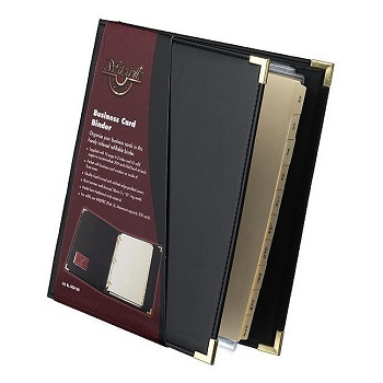 Business card books binders wallets colourmoves