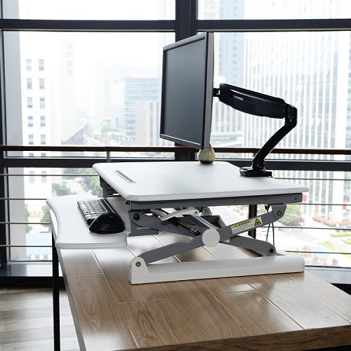 Rapid Riser Height Adjustable Sit Stand Desktop Sit